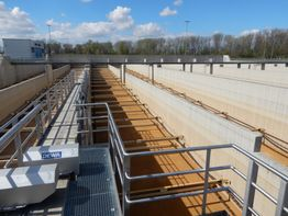 Project: sewage treatment plant in Mannheim, Germany